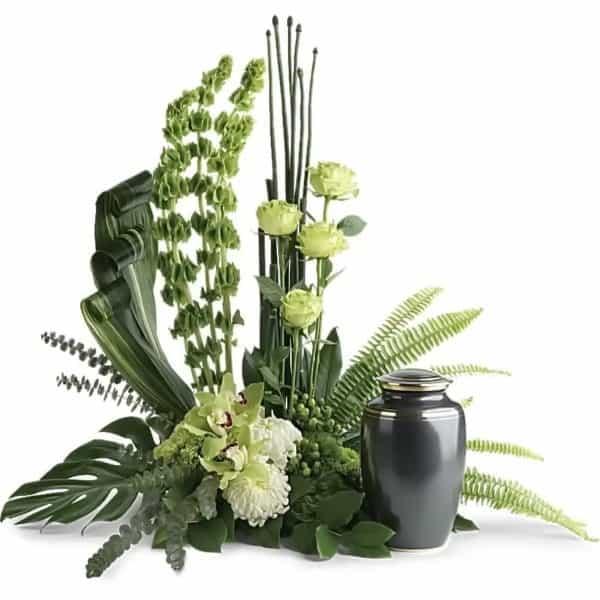 Modern Urn Flowers