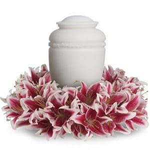 Lily Urn Wreath