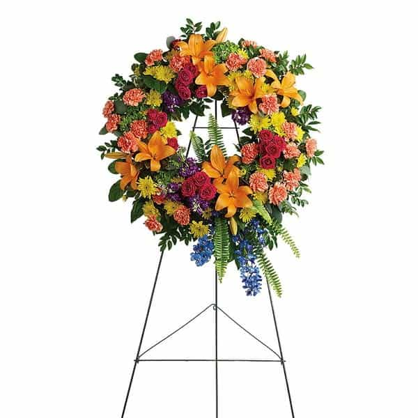 Standing Spray Funeral Flowers