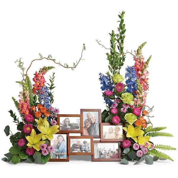 Memorial Collage Flowers