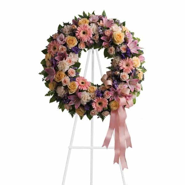 Large Standing Spray Wreath