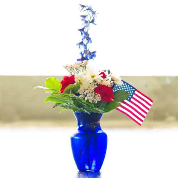Independence Day Flowers