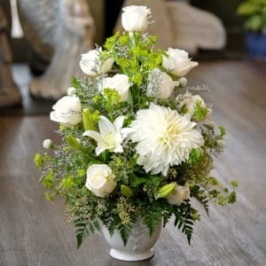 Large White Flower Arrangement