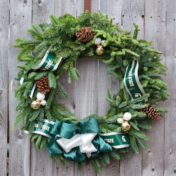 MSU Wreath