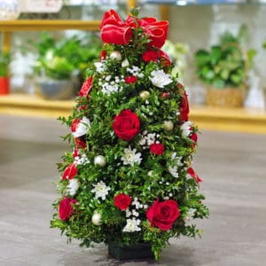 Large Holiday Tabletop Tree