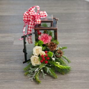 Christmas Lantern Centerpiece