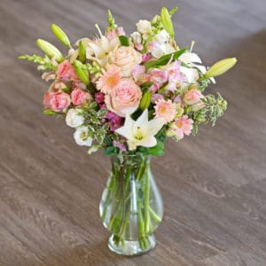 Pink Mixed Flower Bouquet