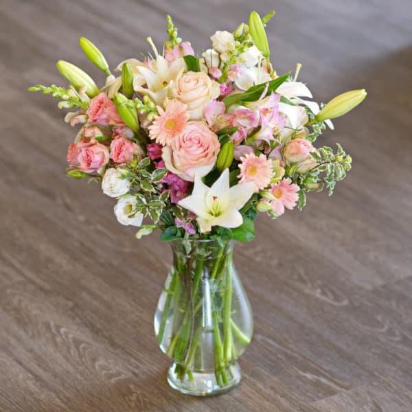 Pink Mixed Flower Bouquet