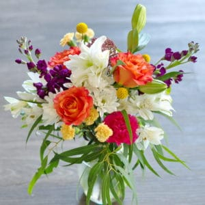 Garden Fresh Flower Bouquet