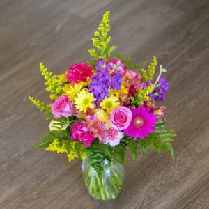 Vibrantly Bright Floral Bouquet
