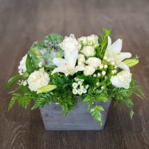 Lilies & Greenery Centerpiece
