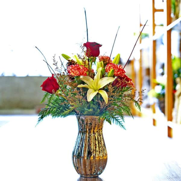 Holiday Floral Bouquet