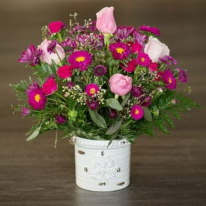 Shades of Pink Floral Arrangement