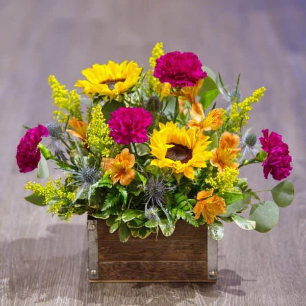 Spring Sunflower Bouquet