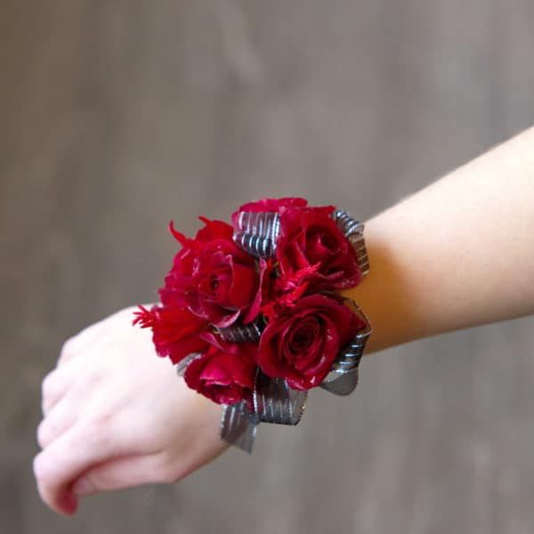 Red Rose Wrist Corsage