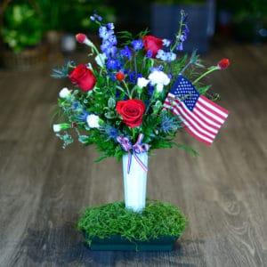 Patriotic Cemetery Cone
