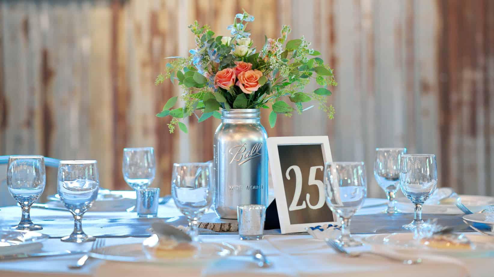 Wedding Table Flower Centerpiece