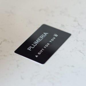 Plumeria Gift Card