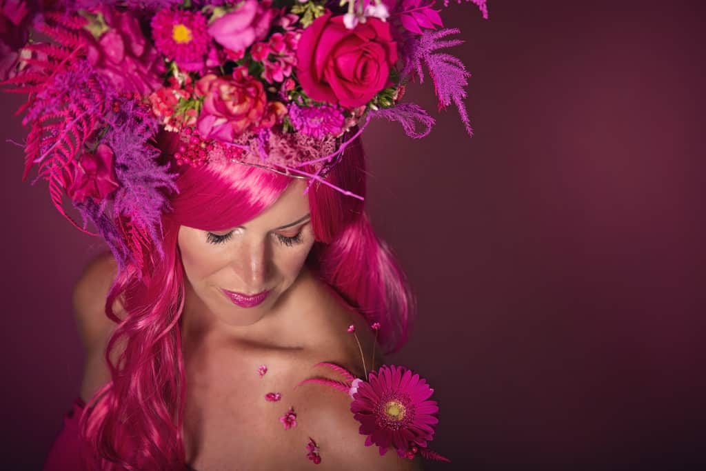 Floral Art Photo Shoot